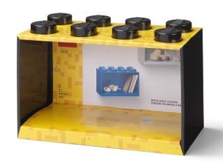 Brick Shelf 8 Knobs – Black