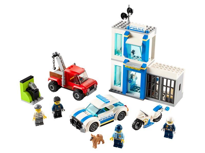 Police Brick Box