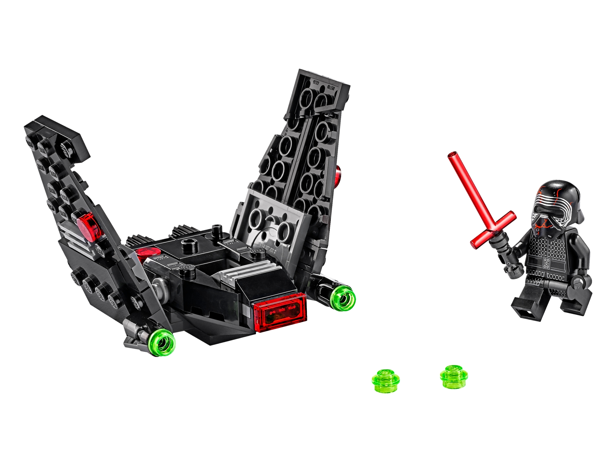 Kylo Ren S Shuttle Microfighter 75264 Star Wars Buy Online At The Official Lego Shop Us