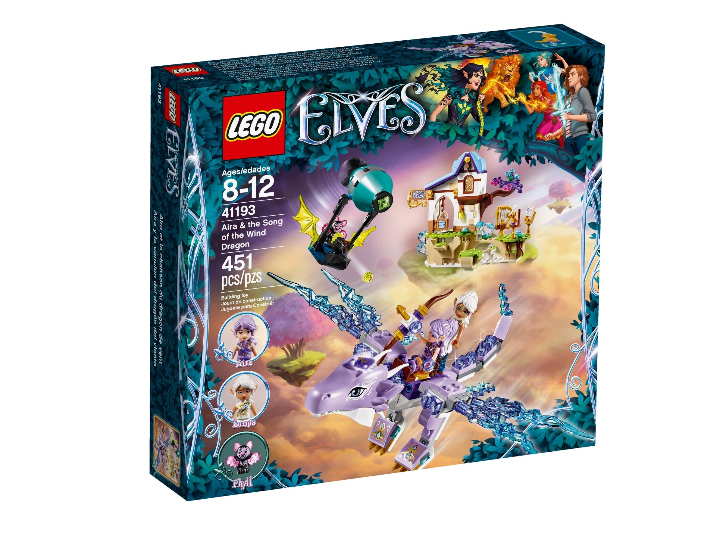 LEGO® ELVES 41193 Aira und das Lied des Winddrachen NEU /& OVP