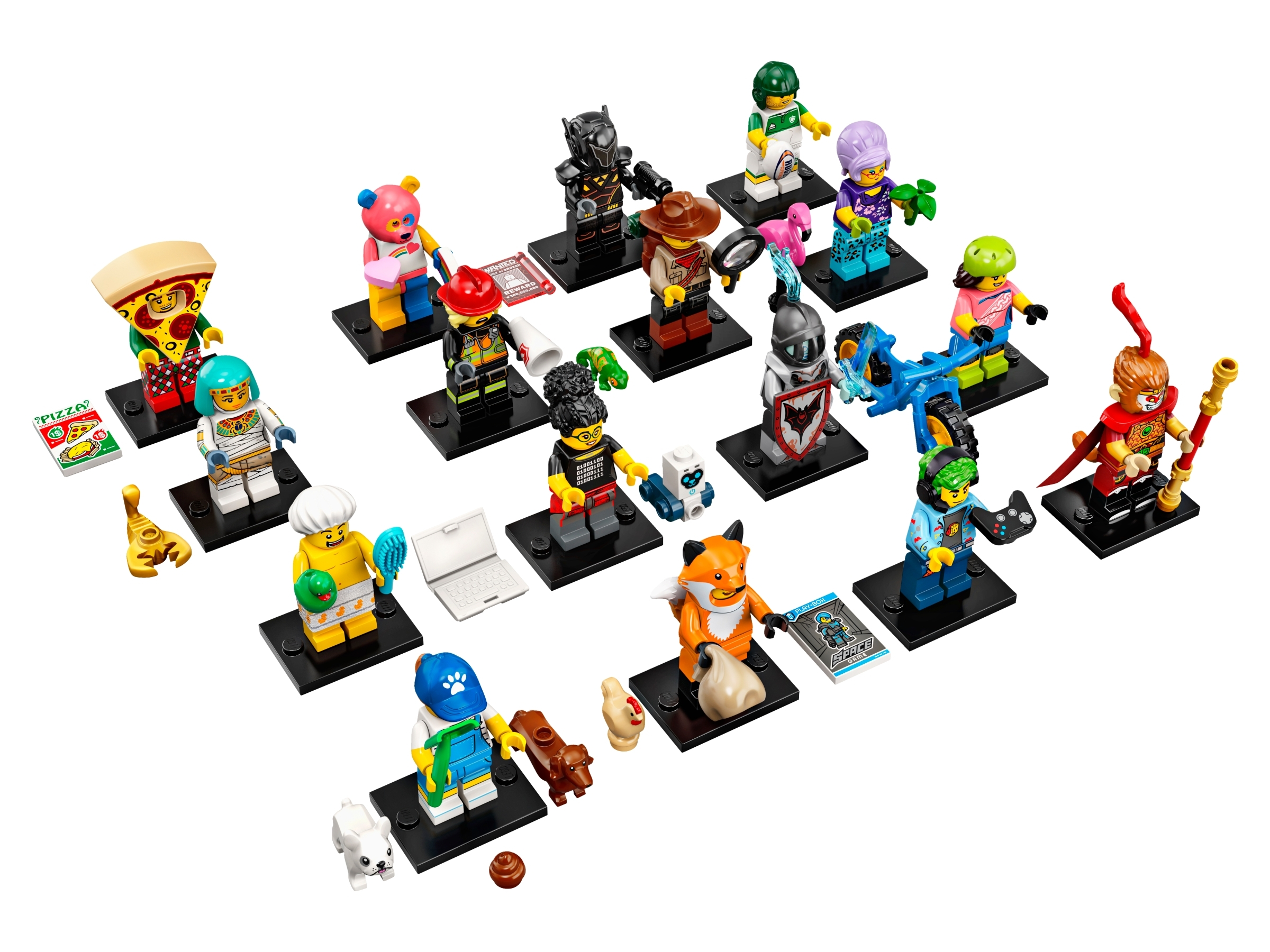 NEW LEGO MINIFIGURE​​S SERIES 19 71025 Programmer