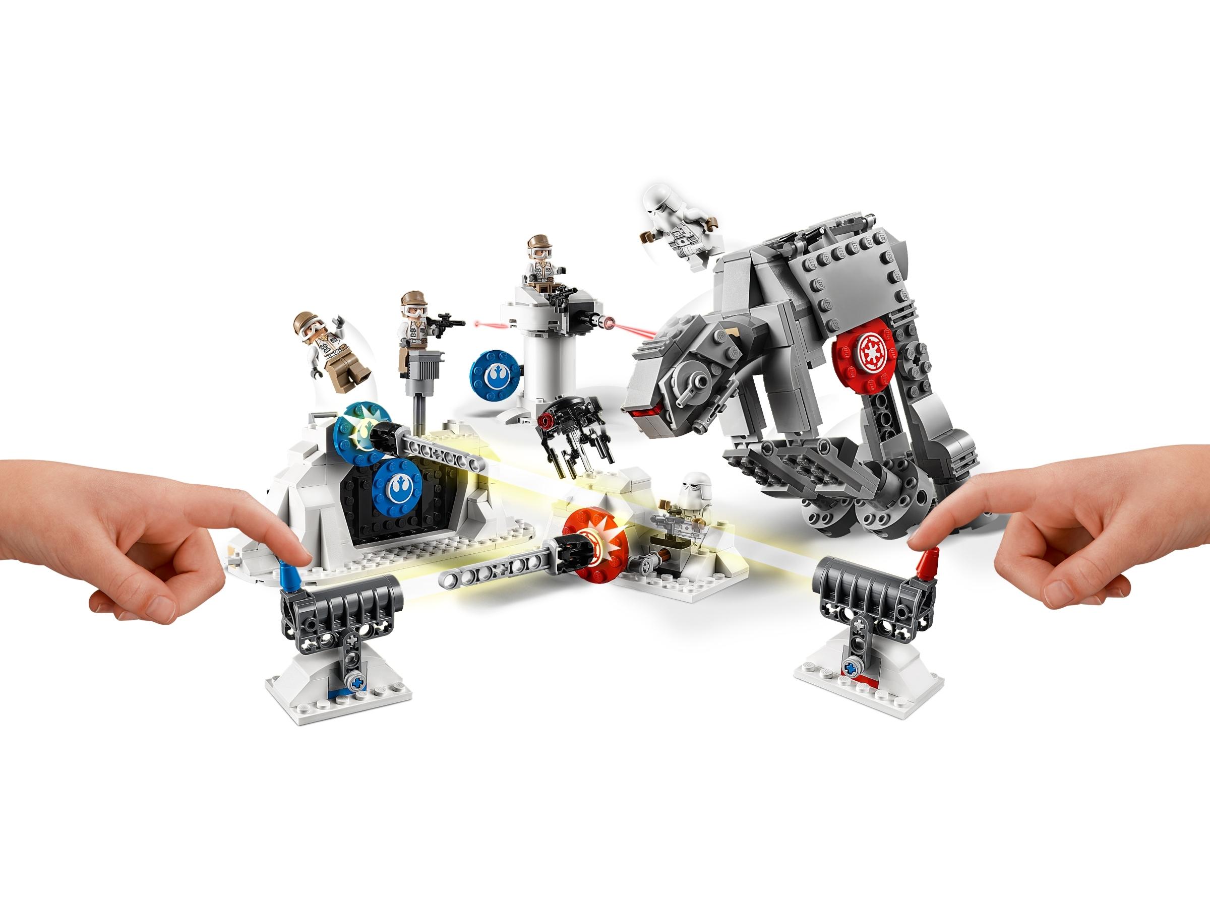 Lego Star Wars Lot of 3 Snowtrooper Minifigure 75241 75239