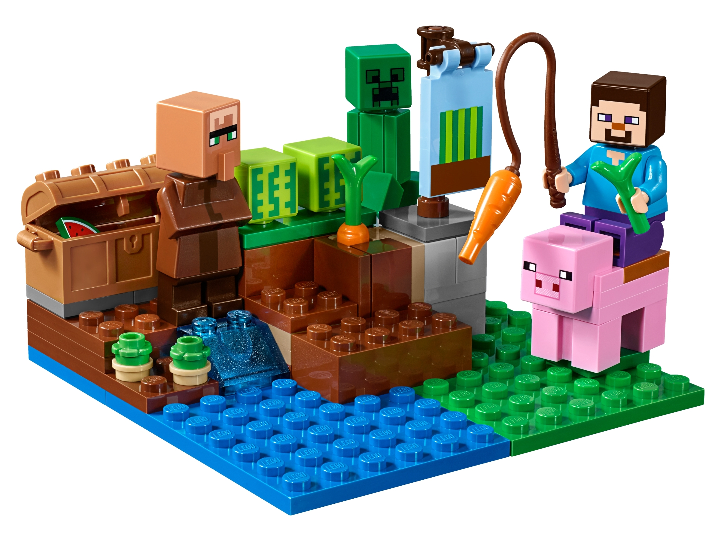 The Melon Farm 21138 Minecraft Buy Online At The Official Lego Shop Mx