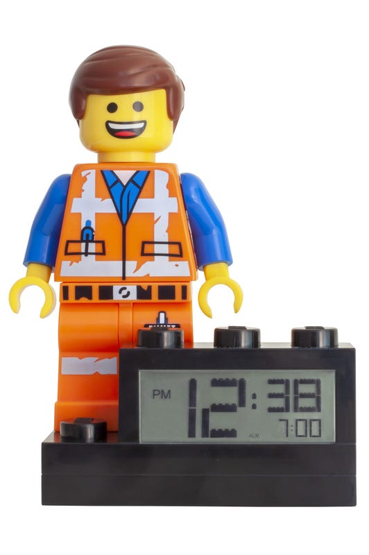 THE LEGO® MOVIE 2™ Emmet Alarm Clock