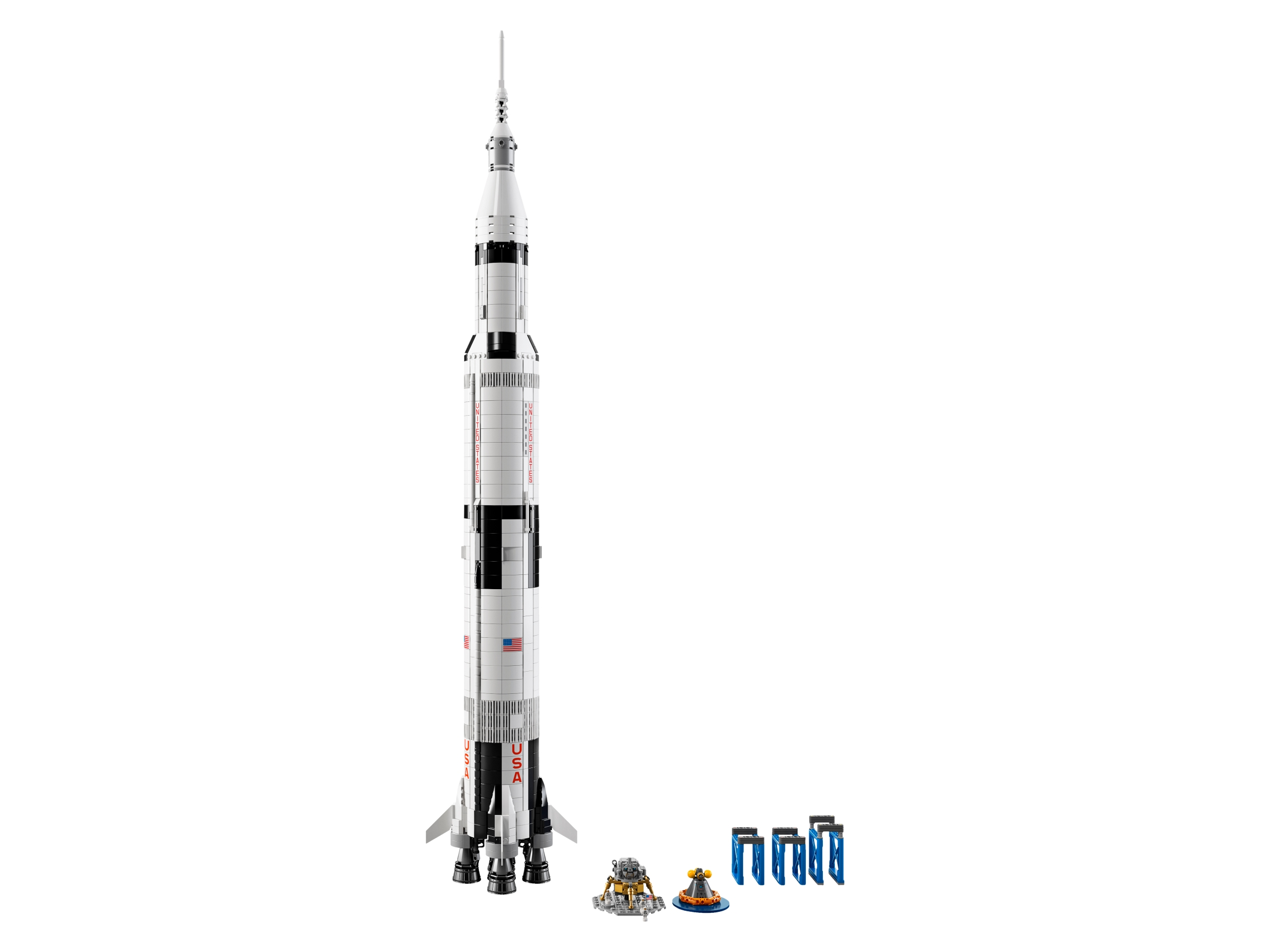Lego Nasa Apollo Saturn V 92176 Ideas Buy Online At The Official Lego Shop Us