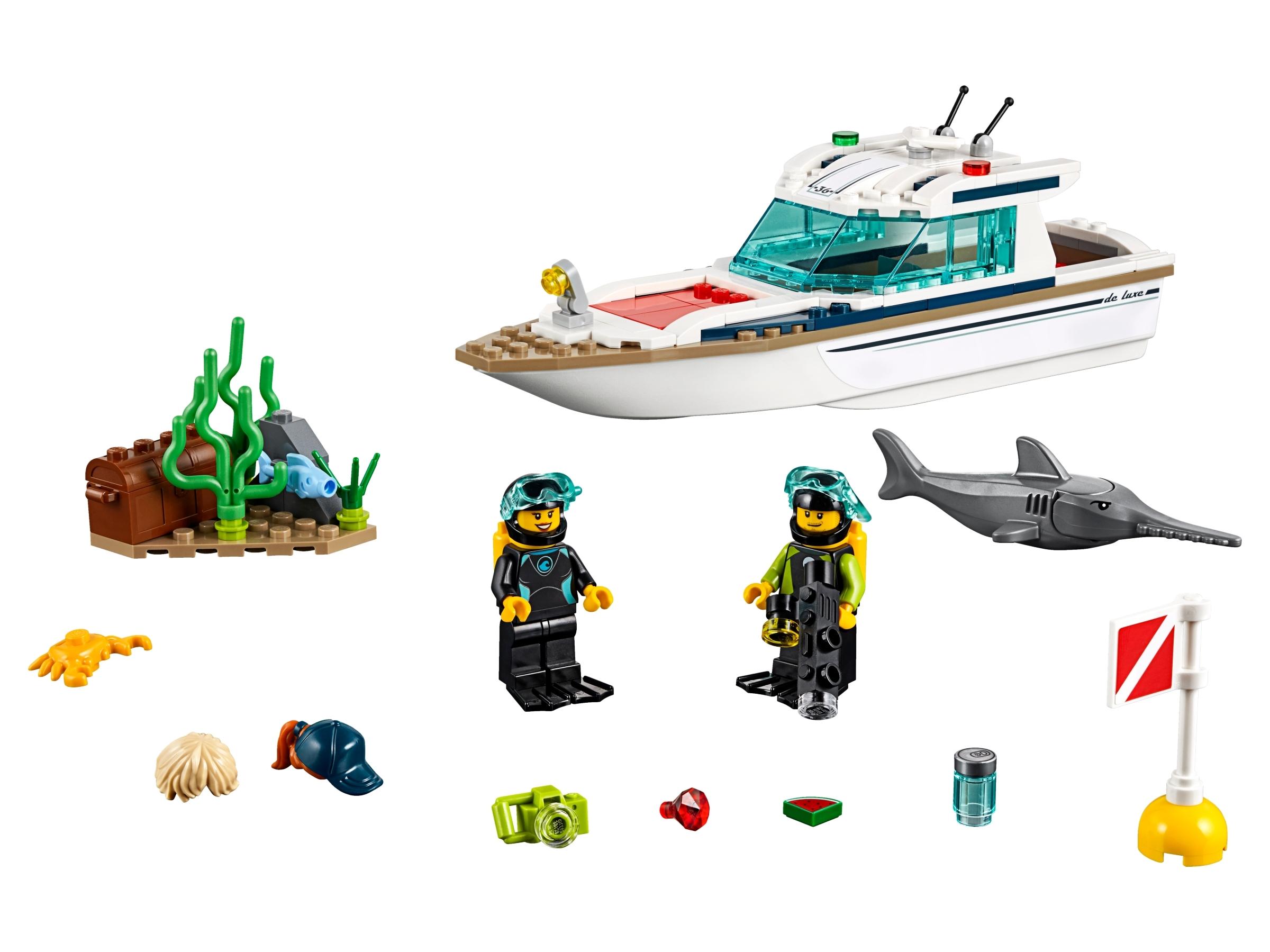 LEGO City 60221 Le Yacht De Plongée