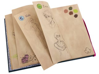 LEGO® Elves Emily Jones' Diary Sketch Book