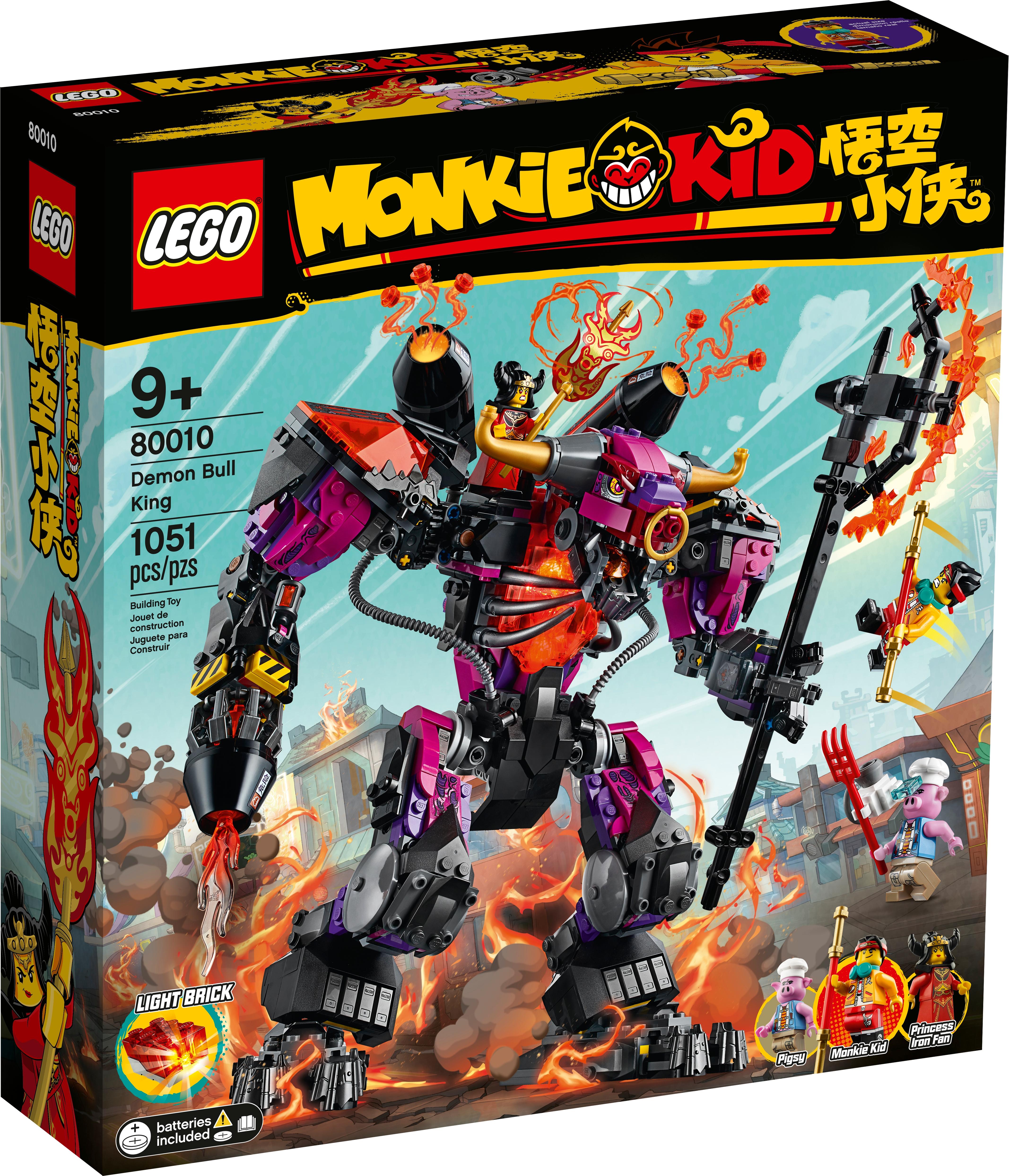 LEGO® Monkie Kid® Pigsy Minifigur aus Set 80010 Demon Bull King 80013 Neu