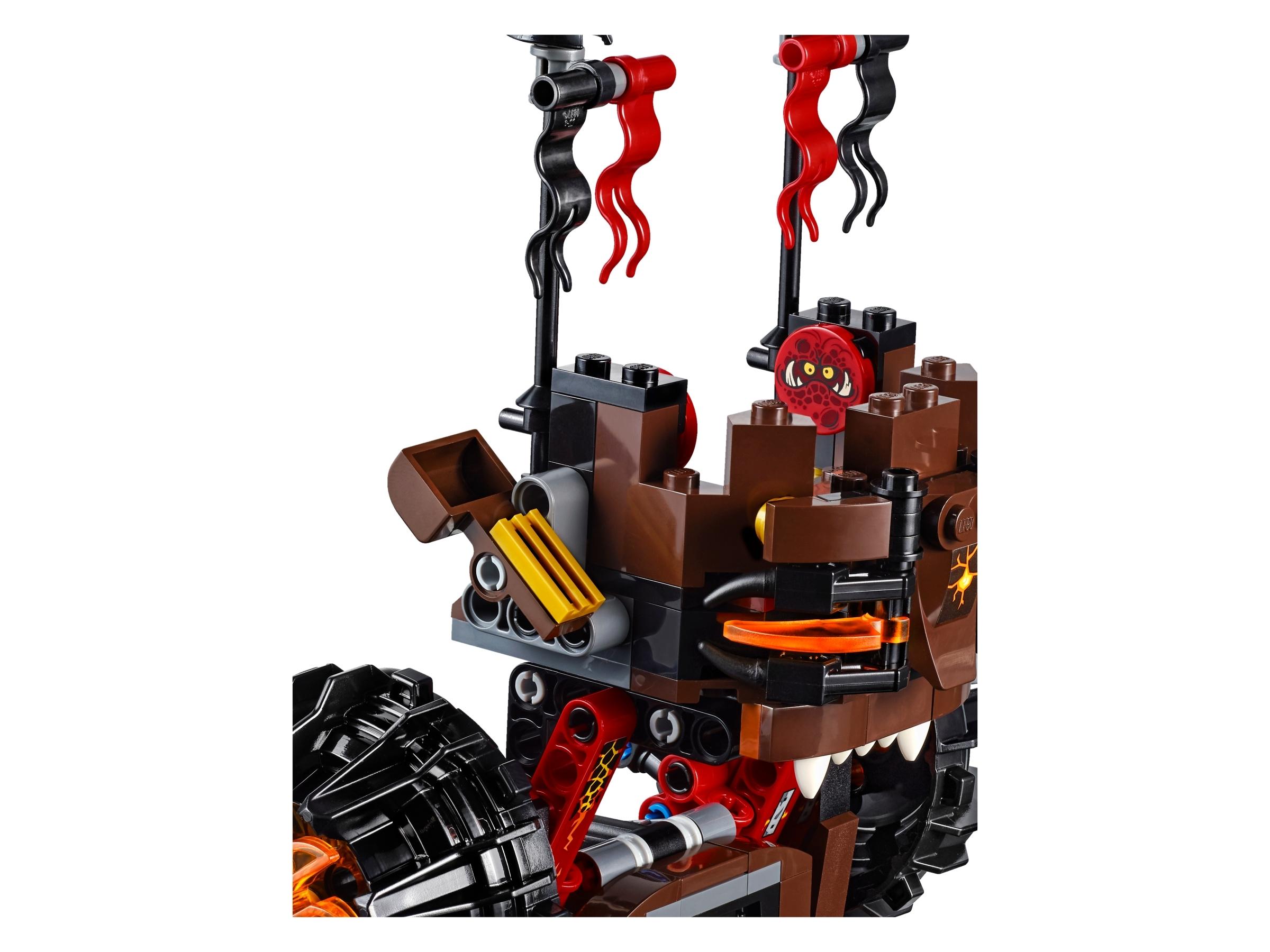 LEGO 70321 GENERAL MAGMAR/'S SIEGE MACHINE OF DOOM 100/% NEUF CLAY FLAMA