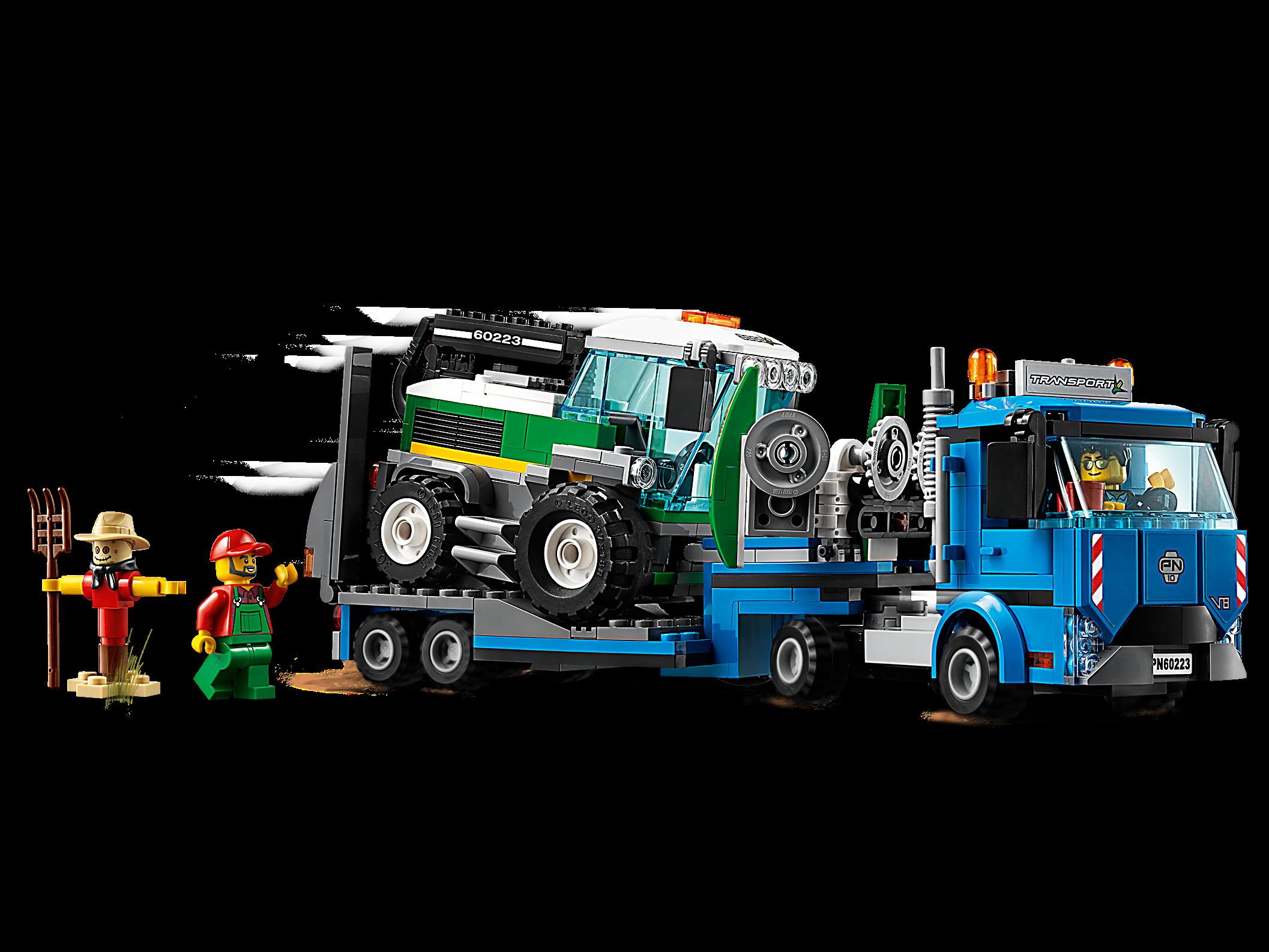 Harvester Transport 60223 City Buy Online At The Official Lego Shop Sg
