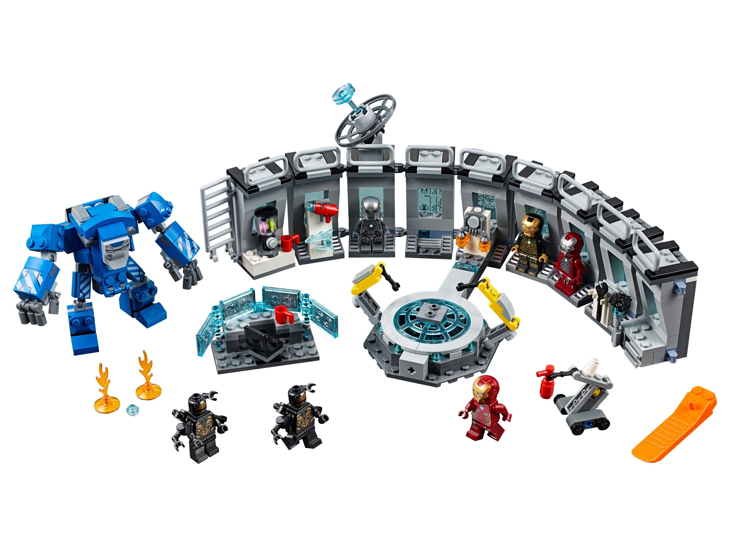 LEGO Avengers Endgame Iron Man Mark 41 Armor Minifigure 76125 Mini Fig