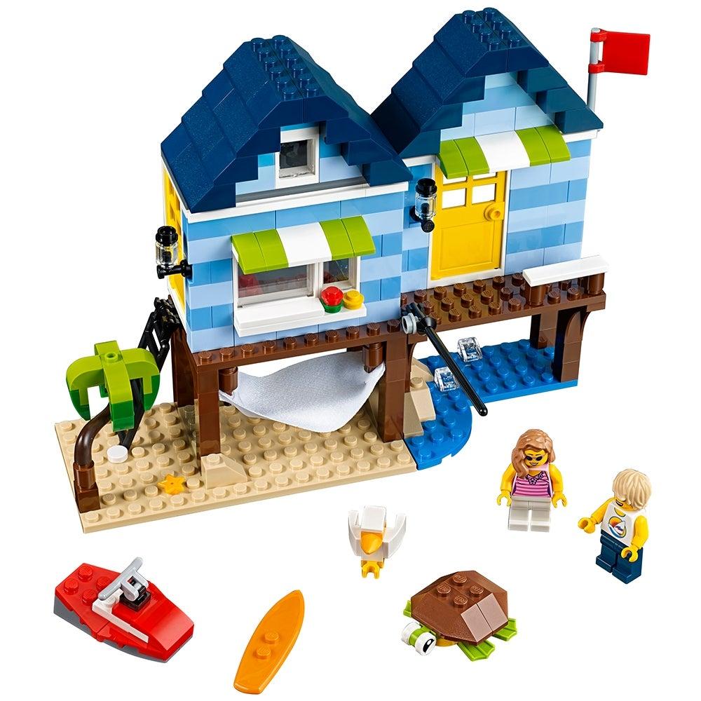 MADE OF GENUINE LEGO PARTS LEGO BEACH GIRL MINIFIGURES CITY SUMMER BEACHSIDE