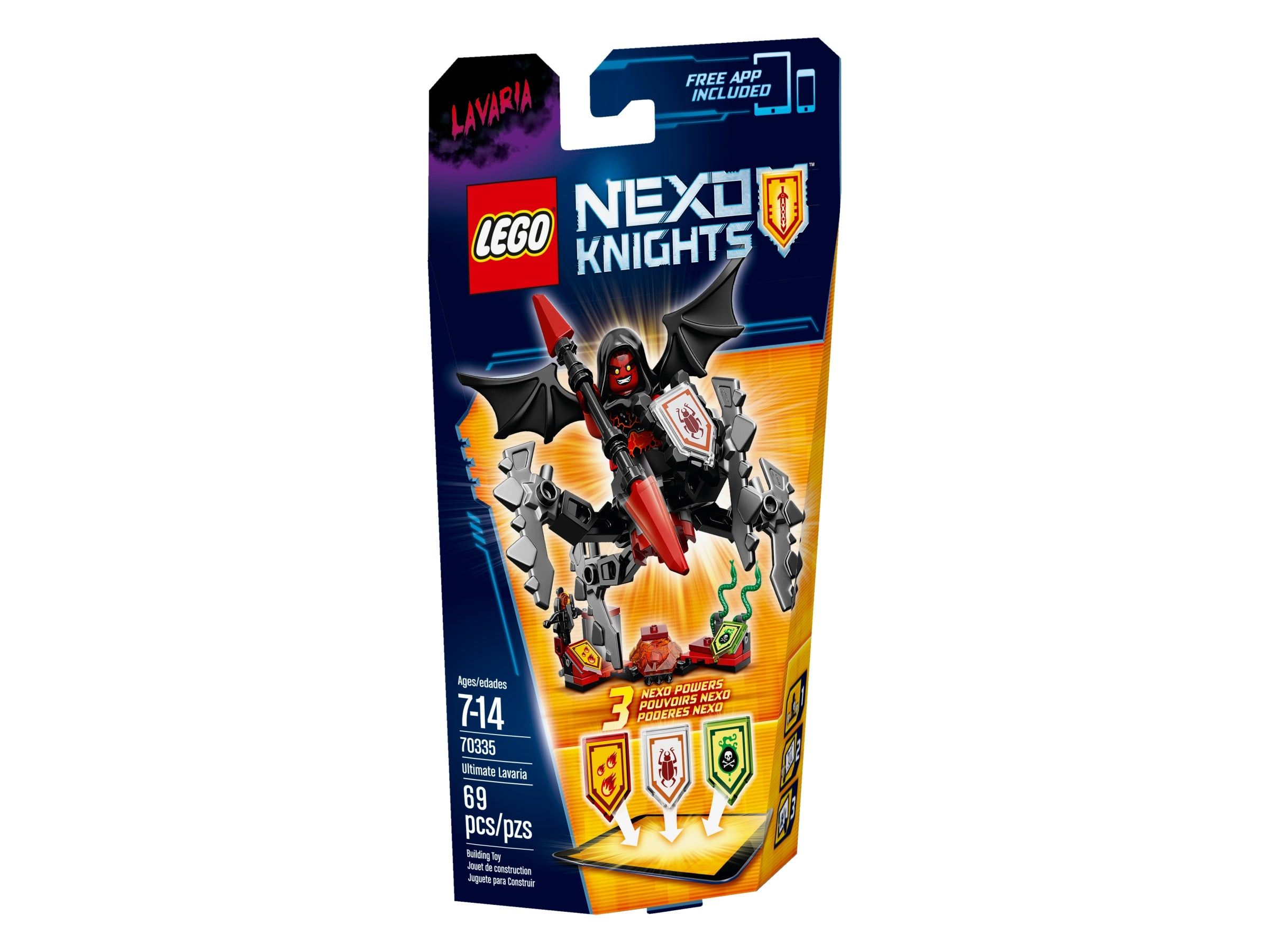 NEW LEGO Lavaria FROM SET 70335 NEXO KNIGHTS NEX030