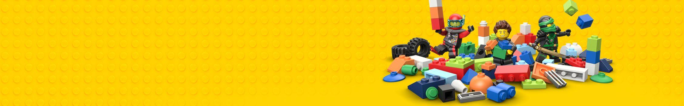 6 2x4 Orange Wing Corner Tail Plate Brick Bricks ~  Lego  ~ NEW ~