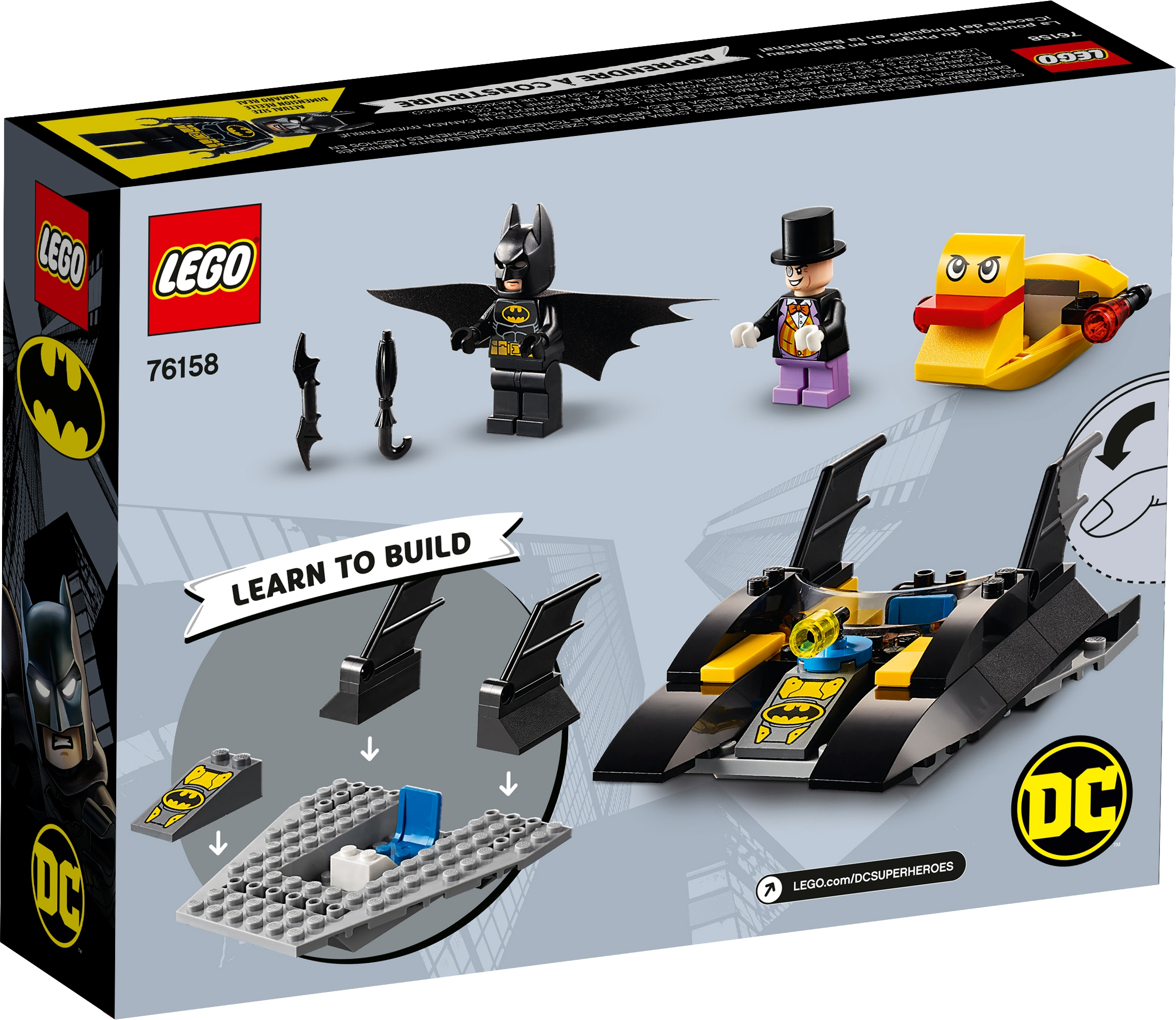 Bagged LEGO Super Heroes The Penguin Minifigure from 76158