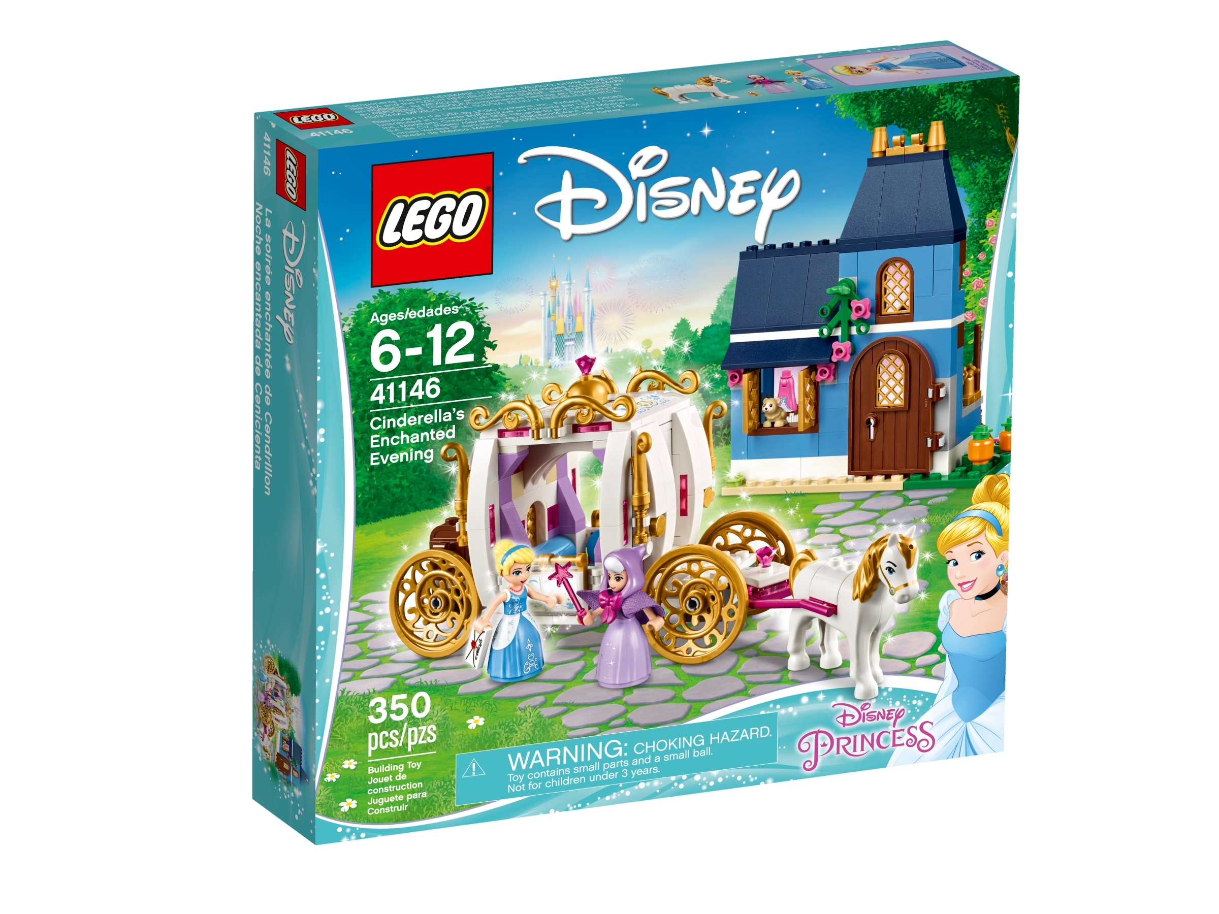 """LEGO DUPLO CINDERELLA PRINCESS w// Removable Skirt 2.5/"""" FIGURE Replacement"""