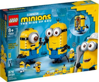 Minions y su Guarida para Construir