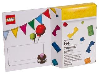 레고® 테마 생일 카드