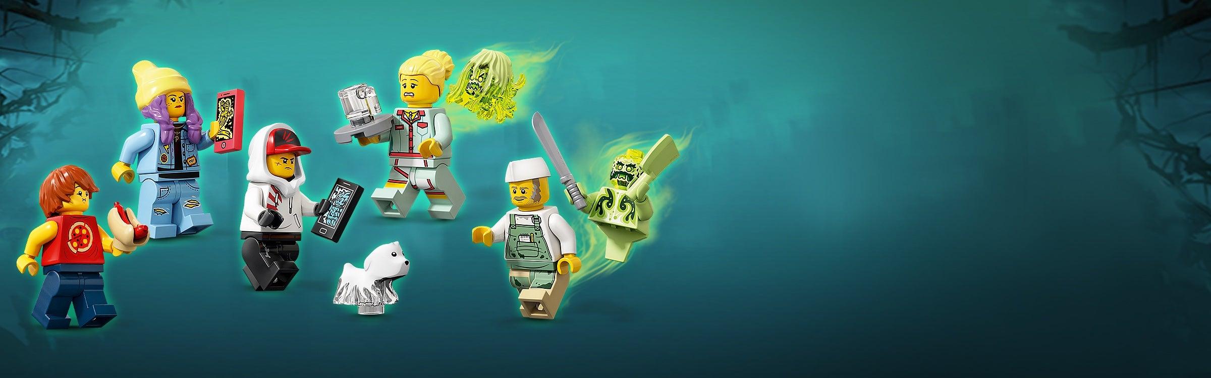 hs029 Sally 70422 LEGO® Minifigs Hidden Side