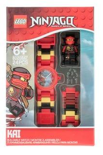 Montre pour enfant à construire LEGO® NINJAGO™ Pirates du ciel Kai