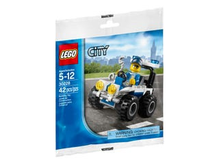 레고® 레고 시티 경찰 ATV