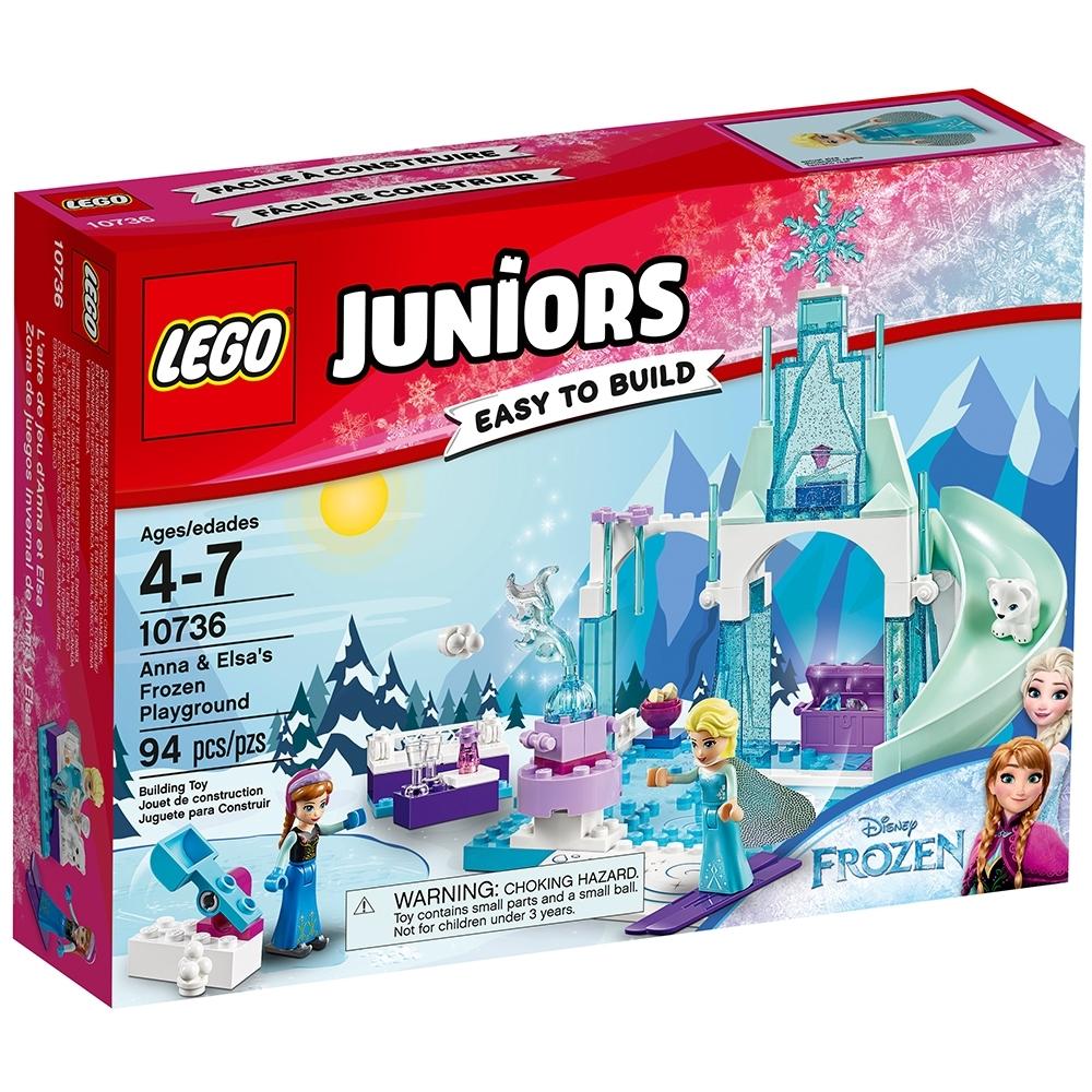 LEGO 10736 Juniors Disney Anna and Elsa/'s Frozen Playground NEW Retired
