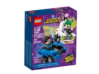 Mighty Micros: Nightwing™ vs. The Joker™