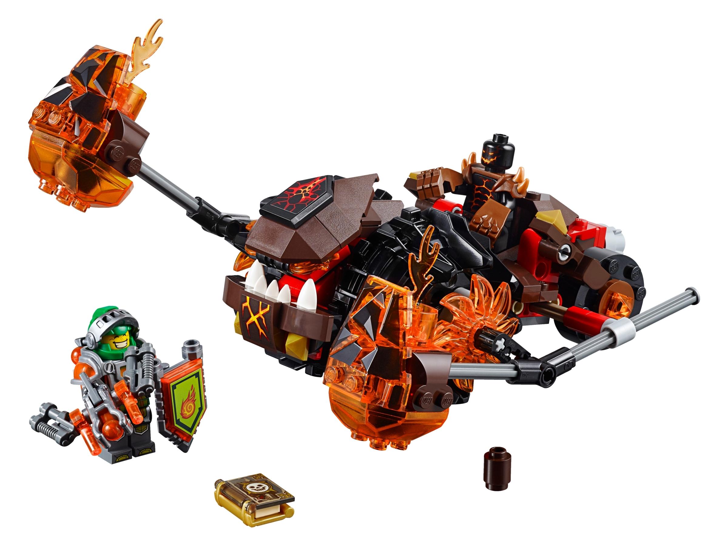 NEW LEGO Crust Smasher FROM SET 70374 NEXO KNIGHTS NEX026