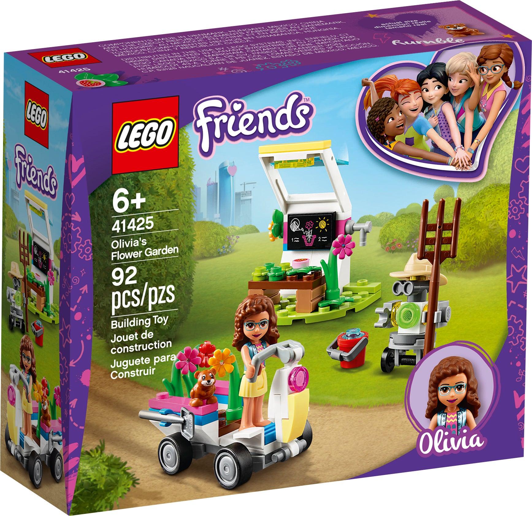 NEW Genuine LEGO fleurs roses dans Brun Foncé tonneau JARDINIERE