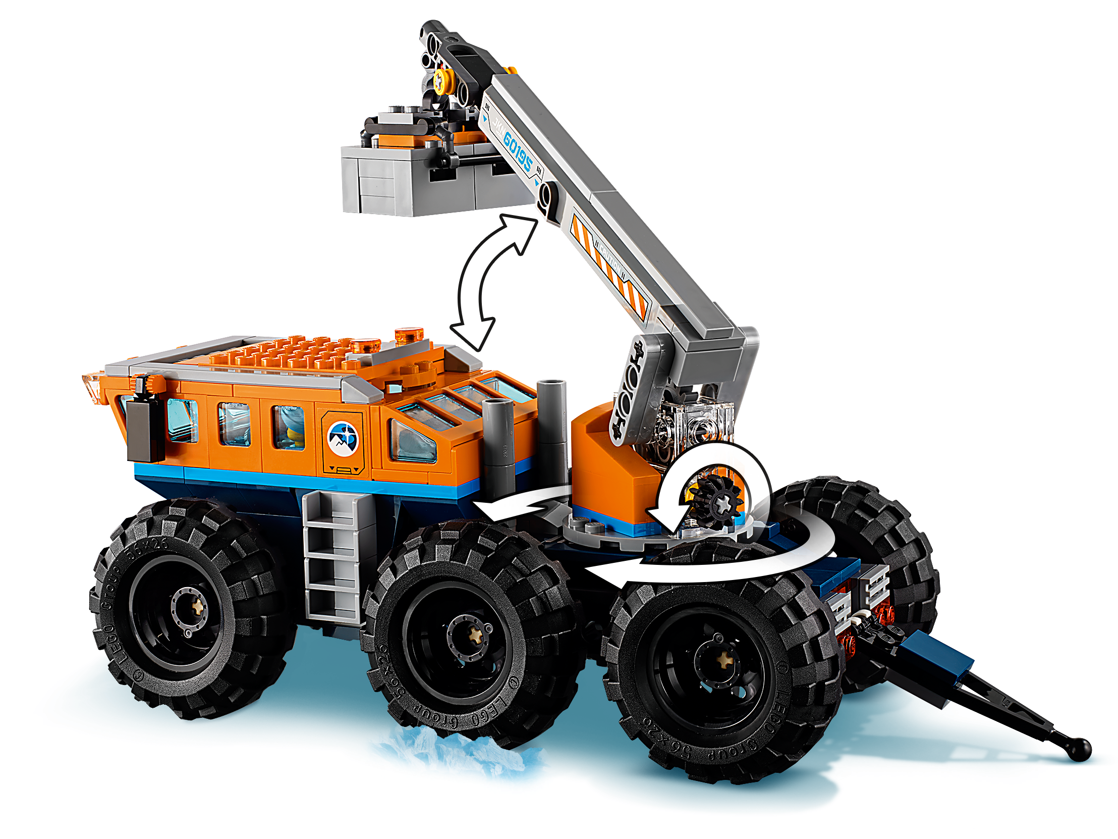 Lego 1x Decal Sticker City 60195 Arctic Mobile Exploration Base New