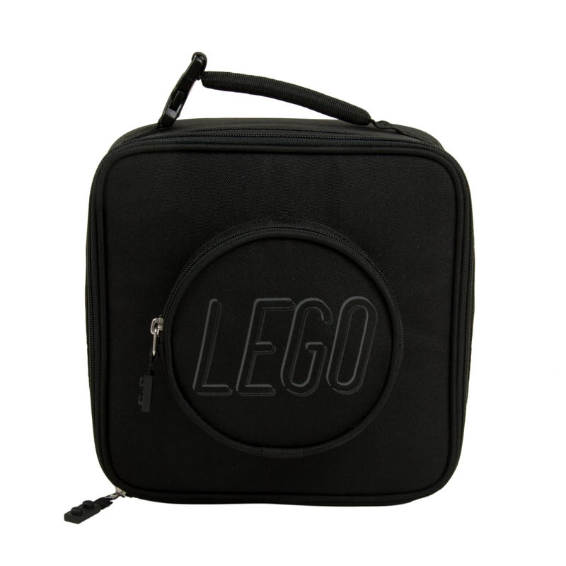 LEGO® Brick Lunch Bag Black