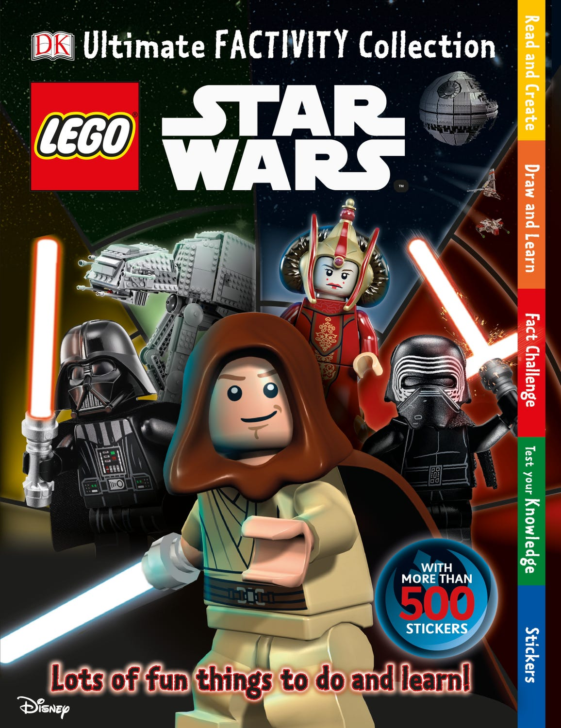 Livre Ultimate Factivity Collection LEGO® Star Wars™