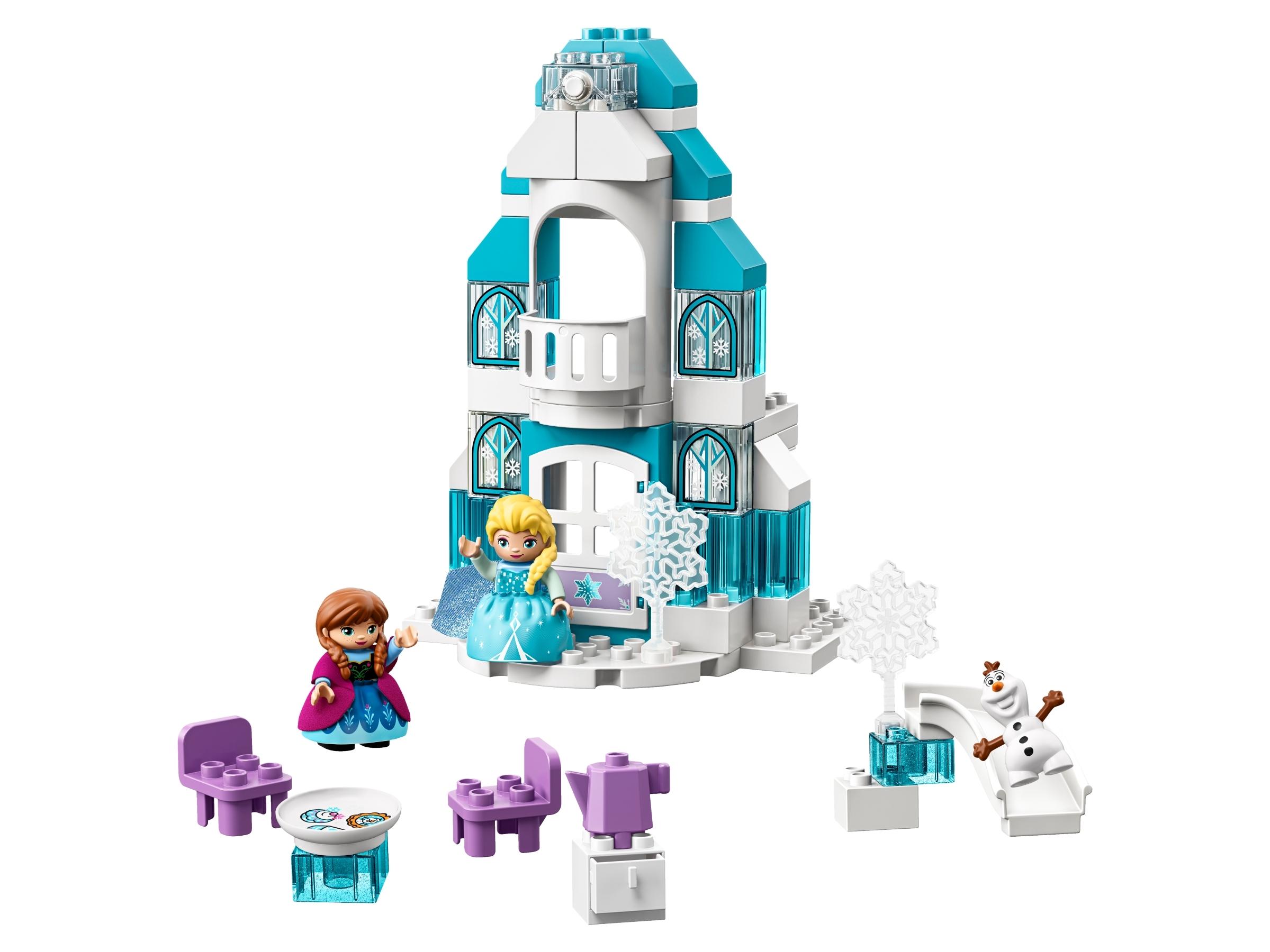 castello costruzioni di frozen lego