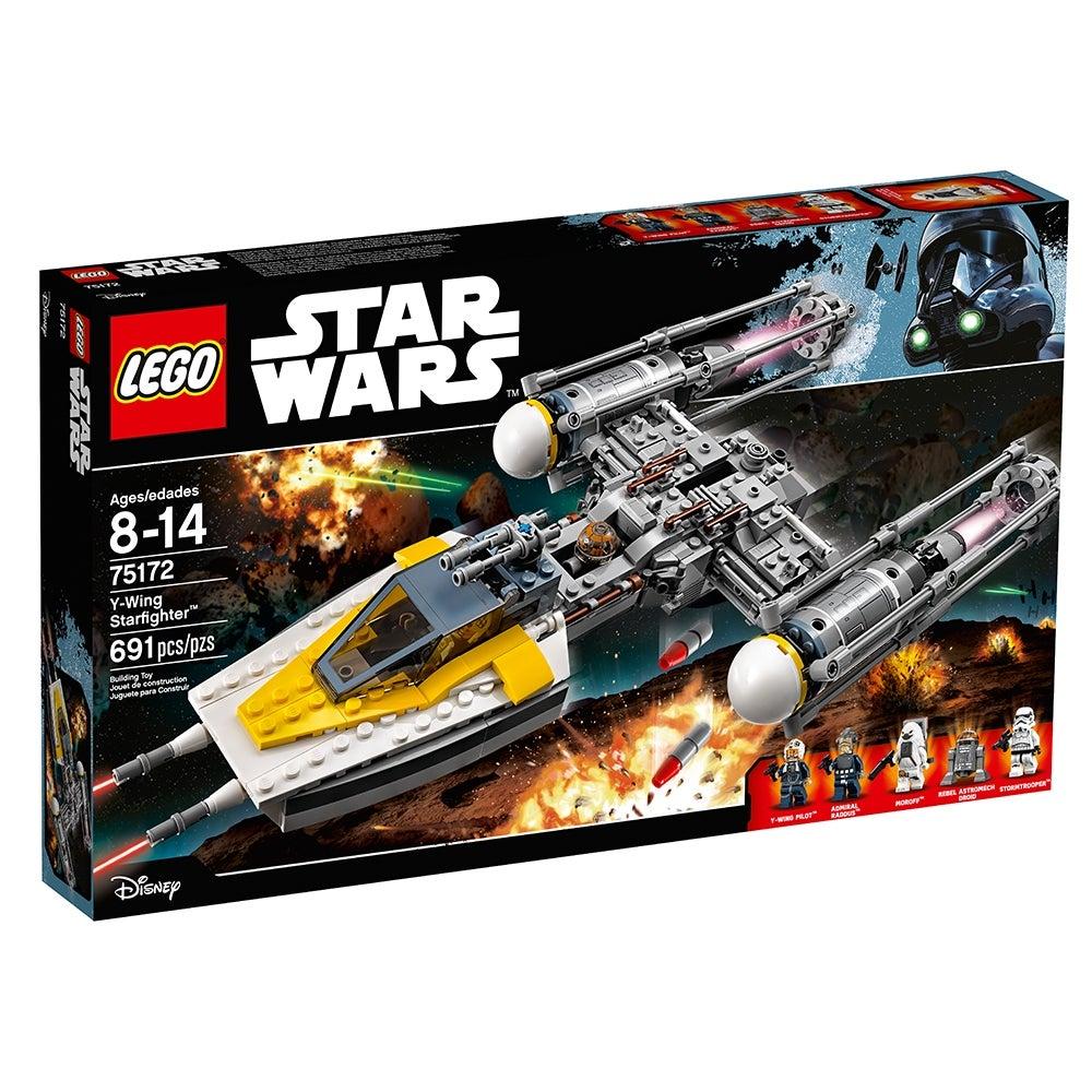 Y-Wing SW0793 75155 75172 Lego Minifigure Star Wars Rebel Pilot U-Wing