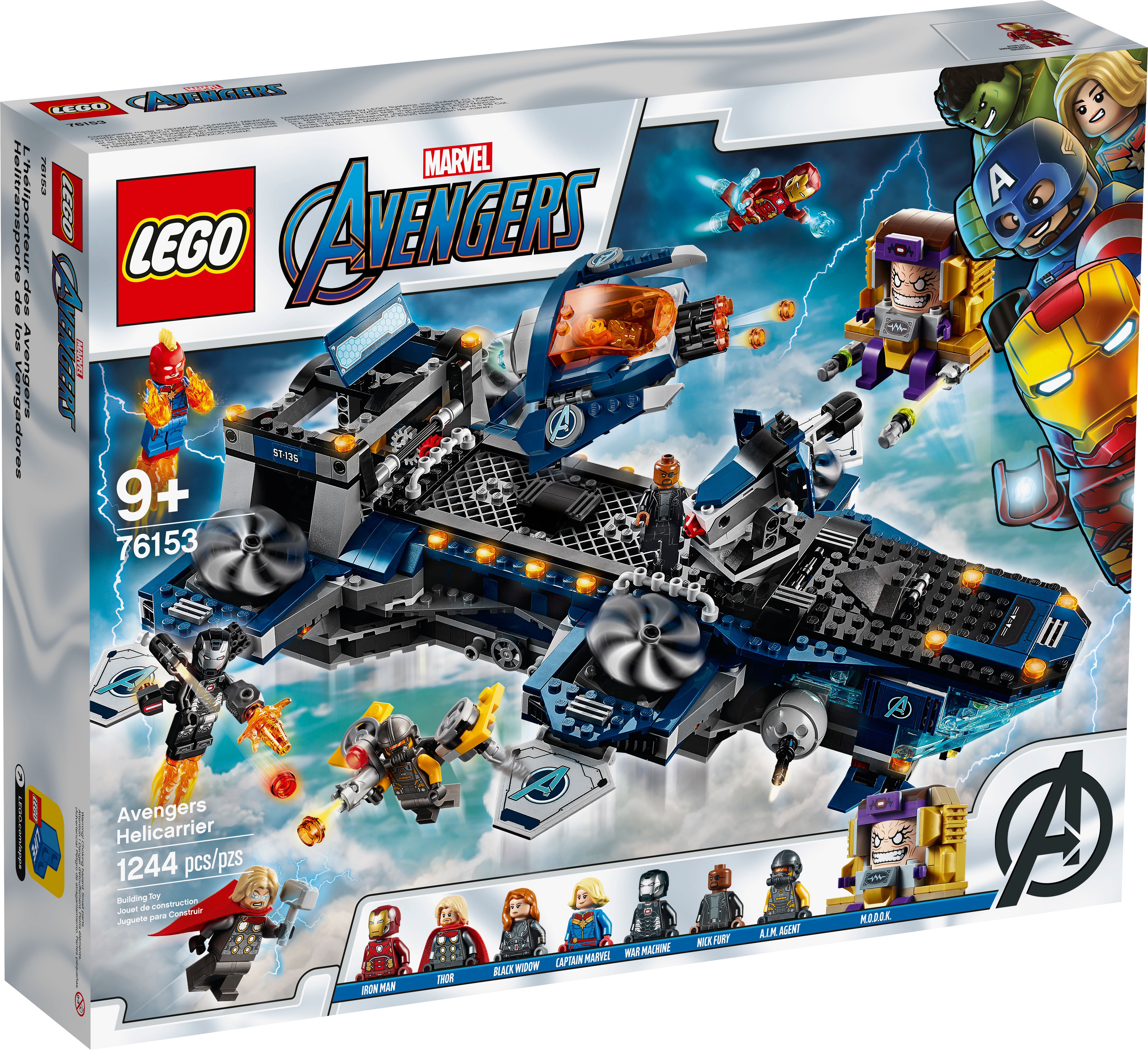 Avengers Helicarrier 76153 Marvel Buy Online At The Official Lego Shop Us