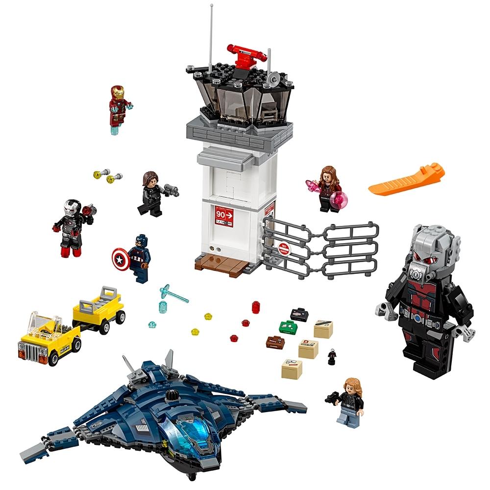 Lego Winter Soldier Bucky Burns Minifigure AUTHENTIC Marvel Avengers 76051