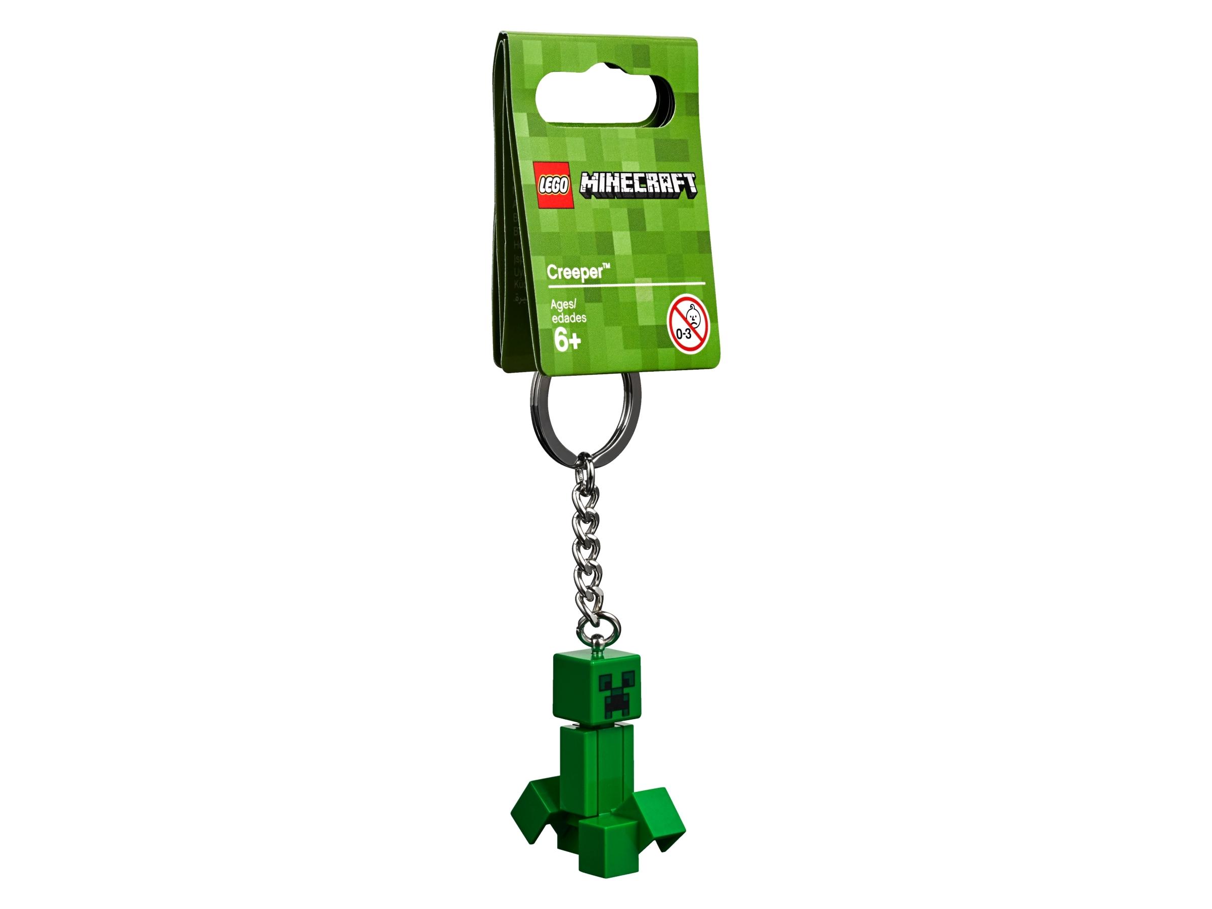 Lego® Minecraft Minifiguren Schlüsselanhänger Steve 853818 Neu