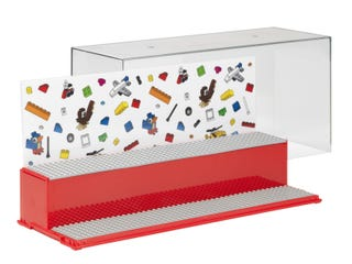 LEGO® Play and Display Case – Red