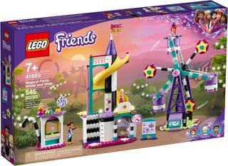 Magical Ferris Wheel and Slide