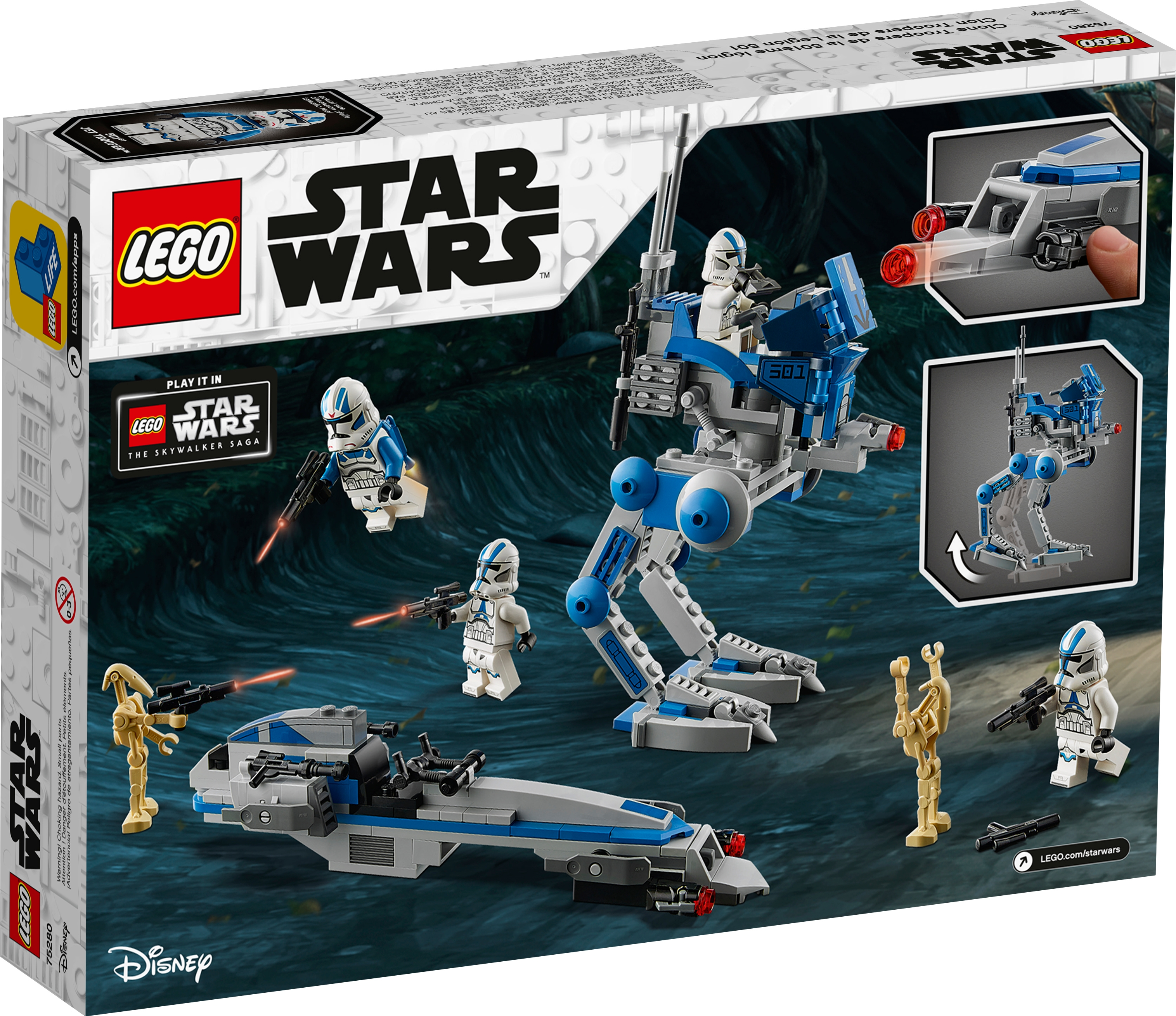 Lego Star Wars 75280 501st Legion Battle Pack BRAND NEW /& SEALED NEW RELEASE