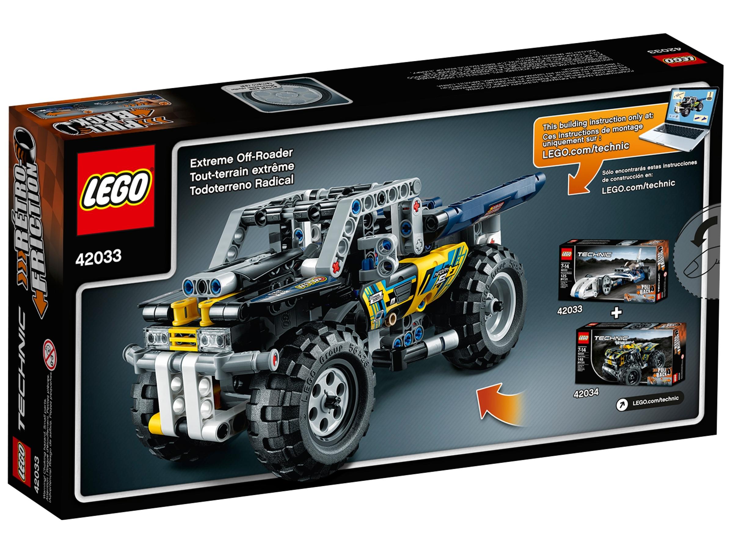 LEGO 42033 LEGO TECHNIC BOLIDE SUPERSONICO