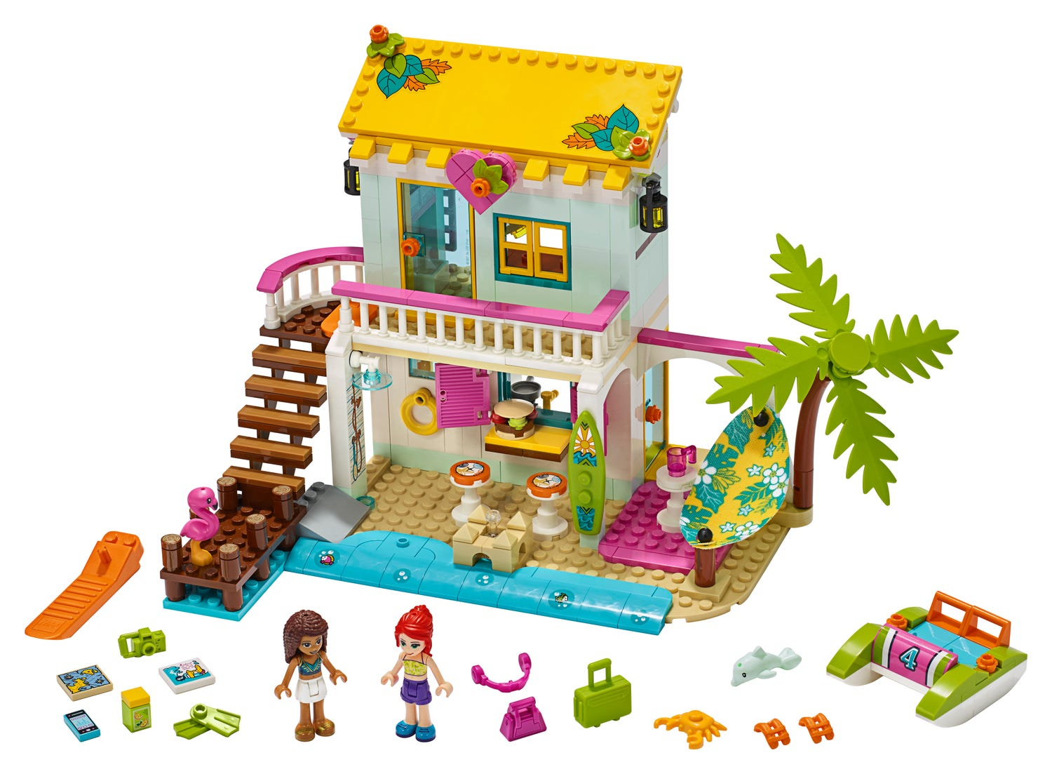 Beach House 41428 Friends Buy Online At The Official Lego Shop Us
