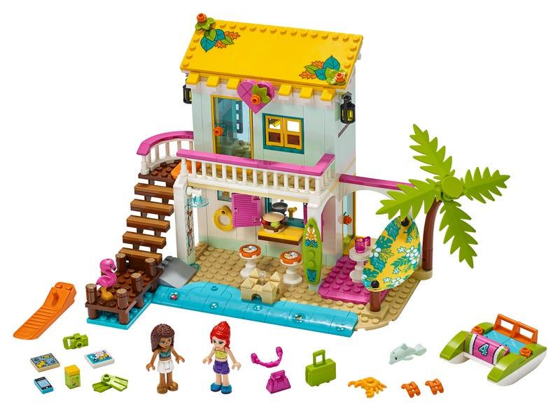 Strandhaus mit Tretboot