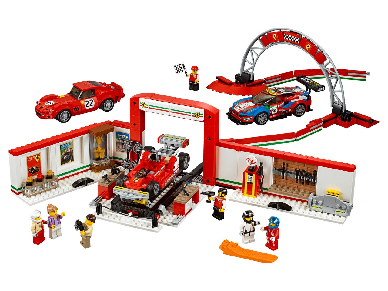 Ferrari Ultimate Garage 75889 Speed Champions Buy Online At The Official Lego Shop Us