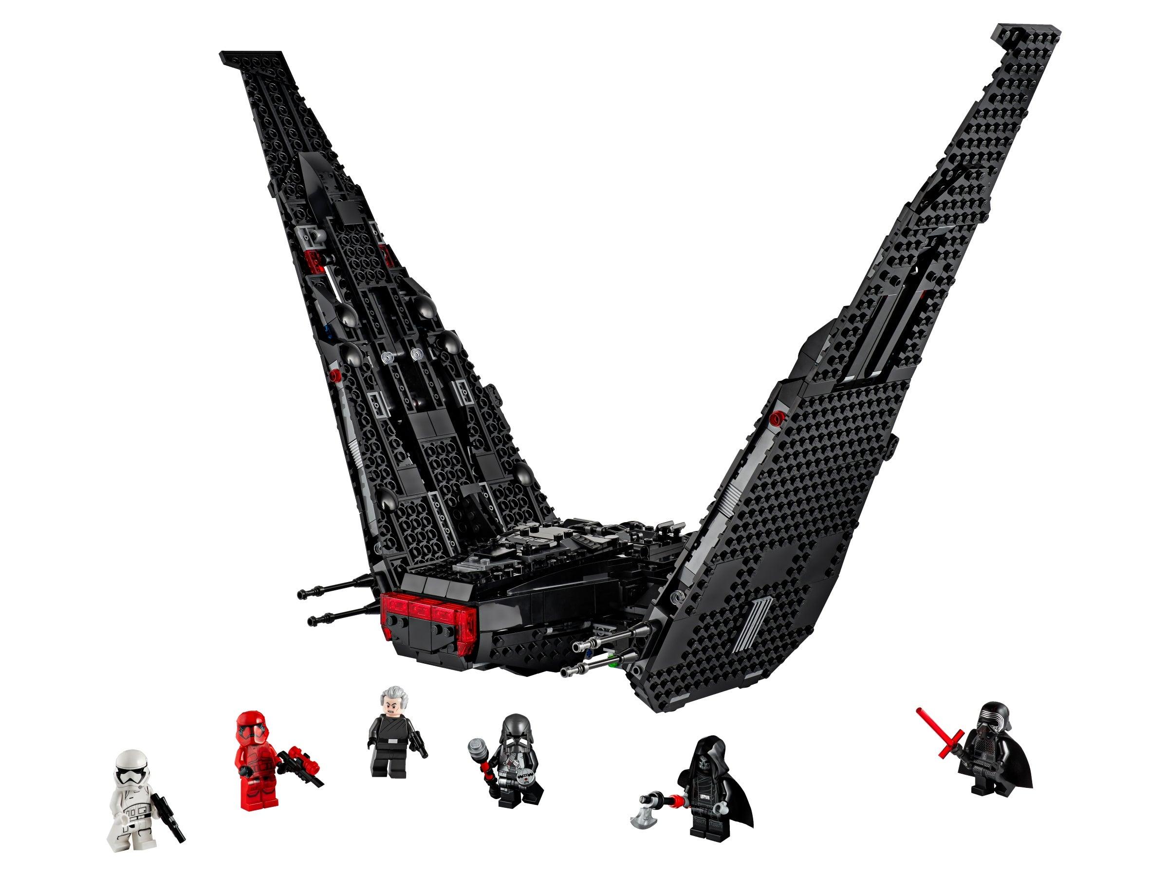 LEGO Star Wars The Rise of Skywalker Kylo Ren/'s Shuttle 75256