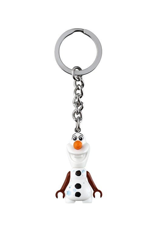 LEGO® À Disney Frozen 2 Olaf Key Chain