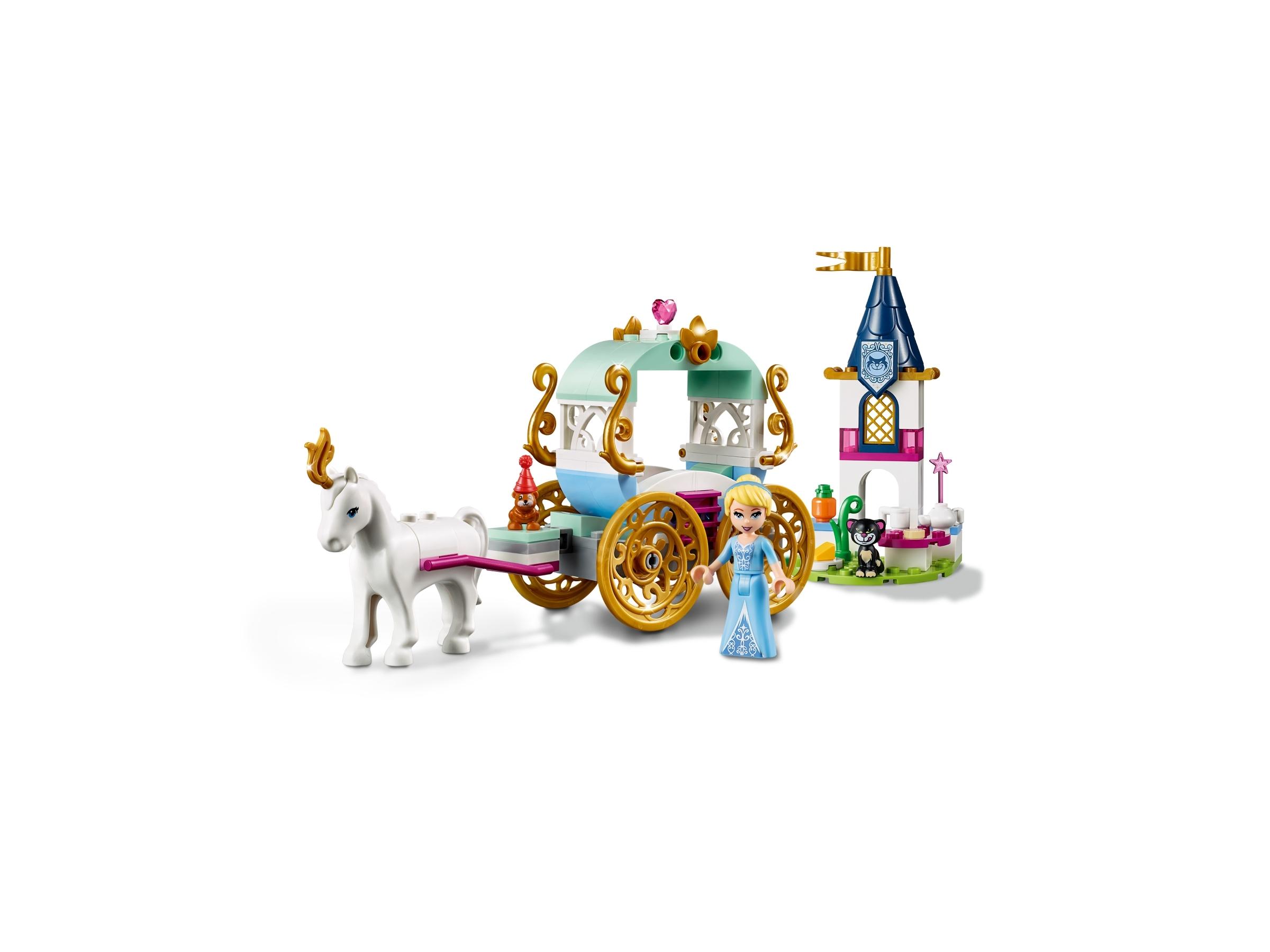 LEGO 41159 Disney Princess Cinderella's Horse And Carriage Ride Building Kit Set
