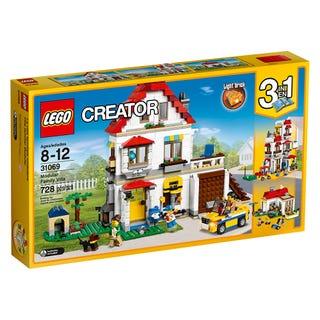 Villa familiar modular