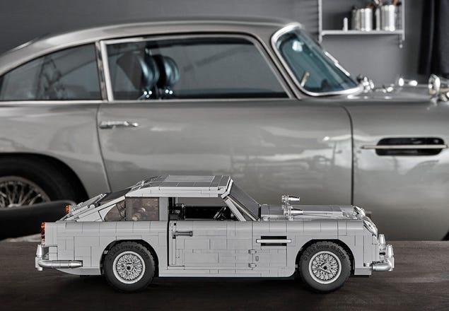 James Bond Aston Martin Db5 10262 Creator Expert Offiziellen Lego Shop At