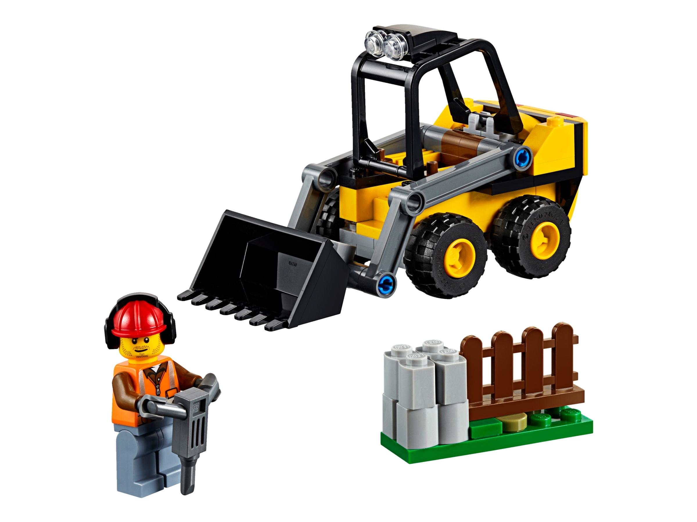 Lego City construction site shovel car 60219